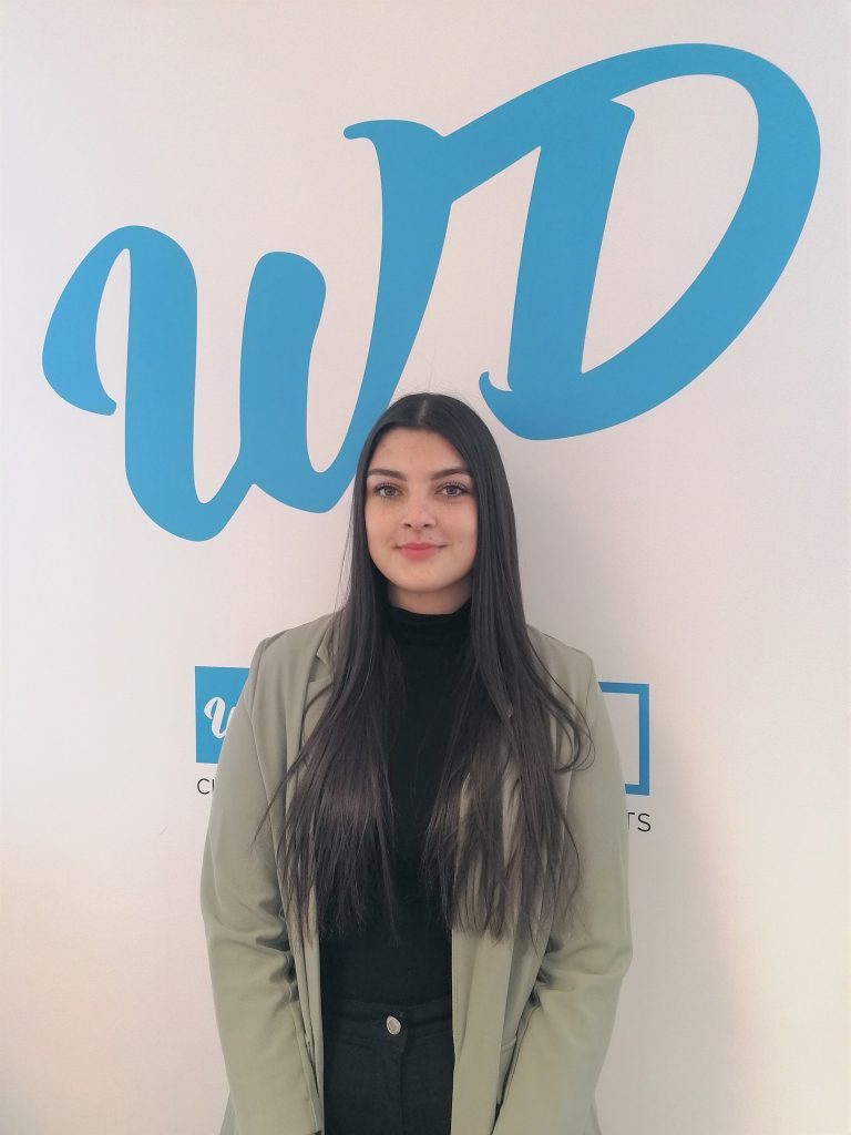 Walpole Dunn photo of new talent Ernesta Grabyte - Taunton Somerset - Welcome to the Team
