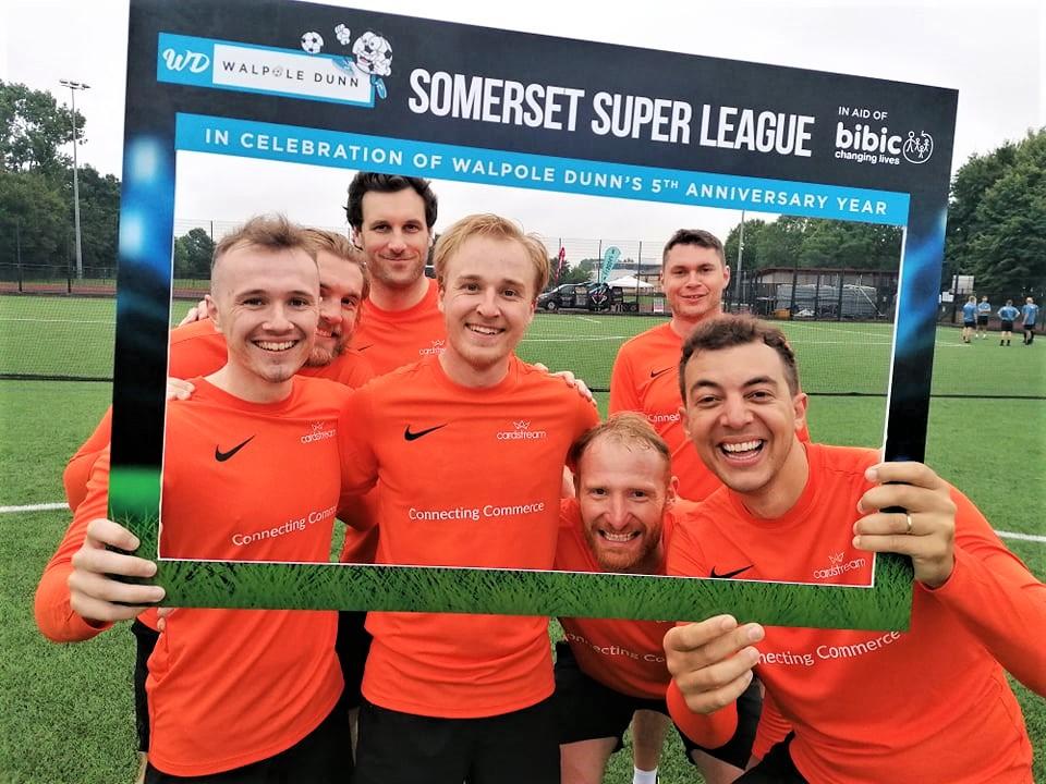 Cardstream Challengers Team Photo at Walpole Dunn Somerset Super League in Taunton