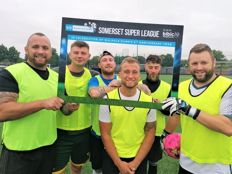 Cotton Motors Team Photo at Walpole Dunn Somerset Super League in Taunton