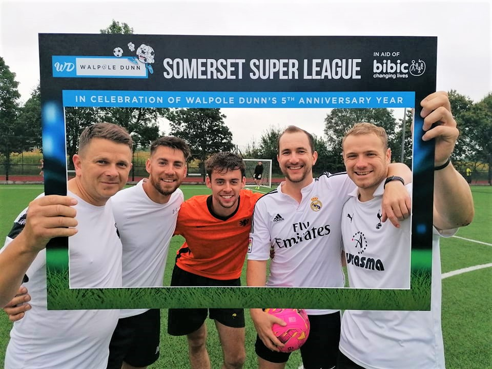 OFC's Team Photo at Walpole Dunn Somerset Super League in Taunton